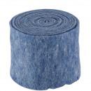 groothandel Woondecoratie: Pot tape vilt, breedte 15 cm, lengte 5 m, blauw